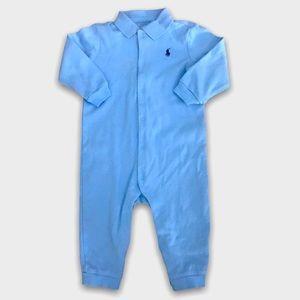 Ralph Lauren Light Blue Pj